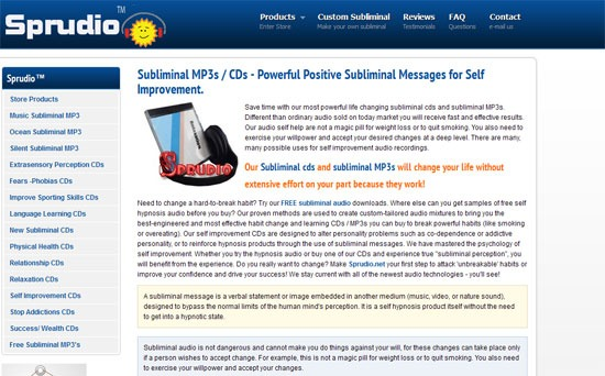 Subliminal Websites ( Best & Real) - Positive Subliminal