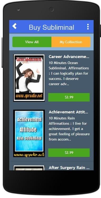 Subliminal App