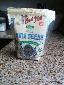 My first Package of Chia Seeds barely touched